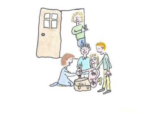 Tell Tales | Illustrations by Joanne Tordoff
