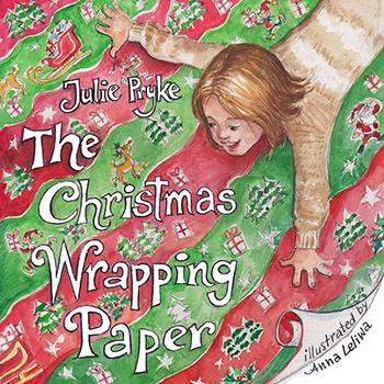 The Christmas Wrapping Paper by Julie Pryke